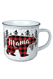 Carson Home Accents Mama Bear Vintage Mug - Front cropped