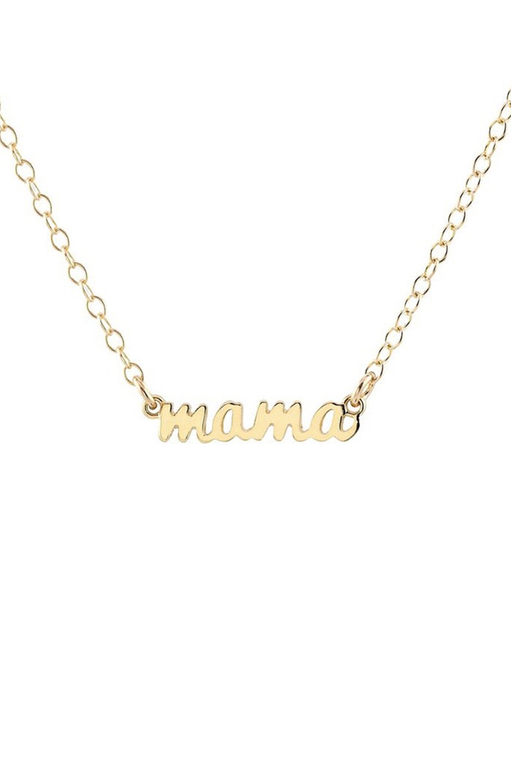 Kris Nations Mama Charm Necklace - Front Full Image