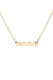 Kris Nations Mama Charm Necklace - Front full body