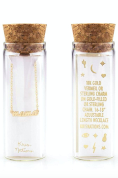 Kris Nations Mama Charm Necklace - Product List Image