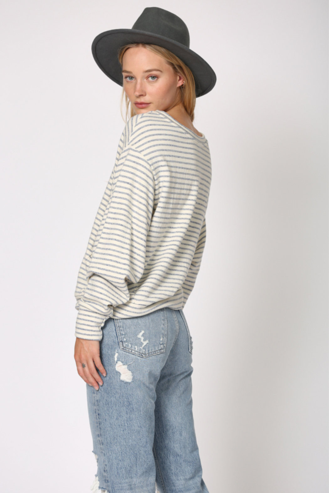 By Together  Mama Knows Best Stripe - Front Full Image