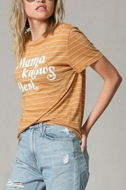 Blank Paige Mama Knows Best Tee - Front full body