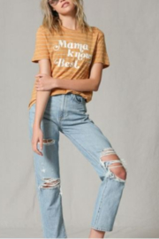 Blank Paige Mama Knows Best Tee - Front cropped