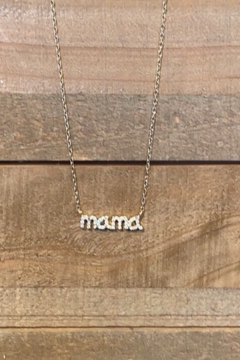 Allie & Chica Mama Necklace Gold - Alternate List Image