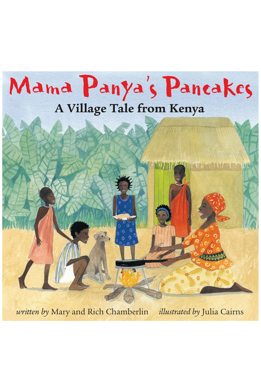 Barefoot Books Mama Panya's Pancakes: A Village Tale from Kenya - Front Cropped Image