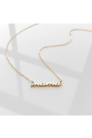 Thatch MAMA Script Necklace - Product Mini Image