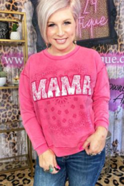 One24 Rags Mama Sweat Shirt - Product Mini Image