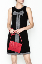 Mamatayoe Bow Tie Herringbone Dress - Product Mini Image