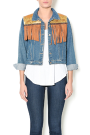 Mamie Ruth Cheyenne Denim Jacket - Product Mini Image