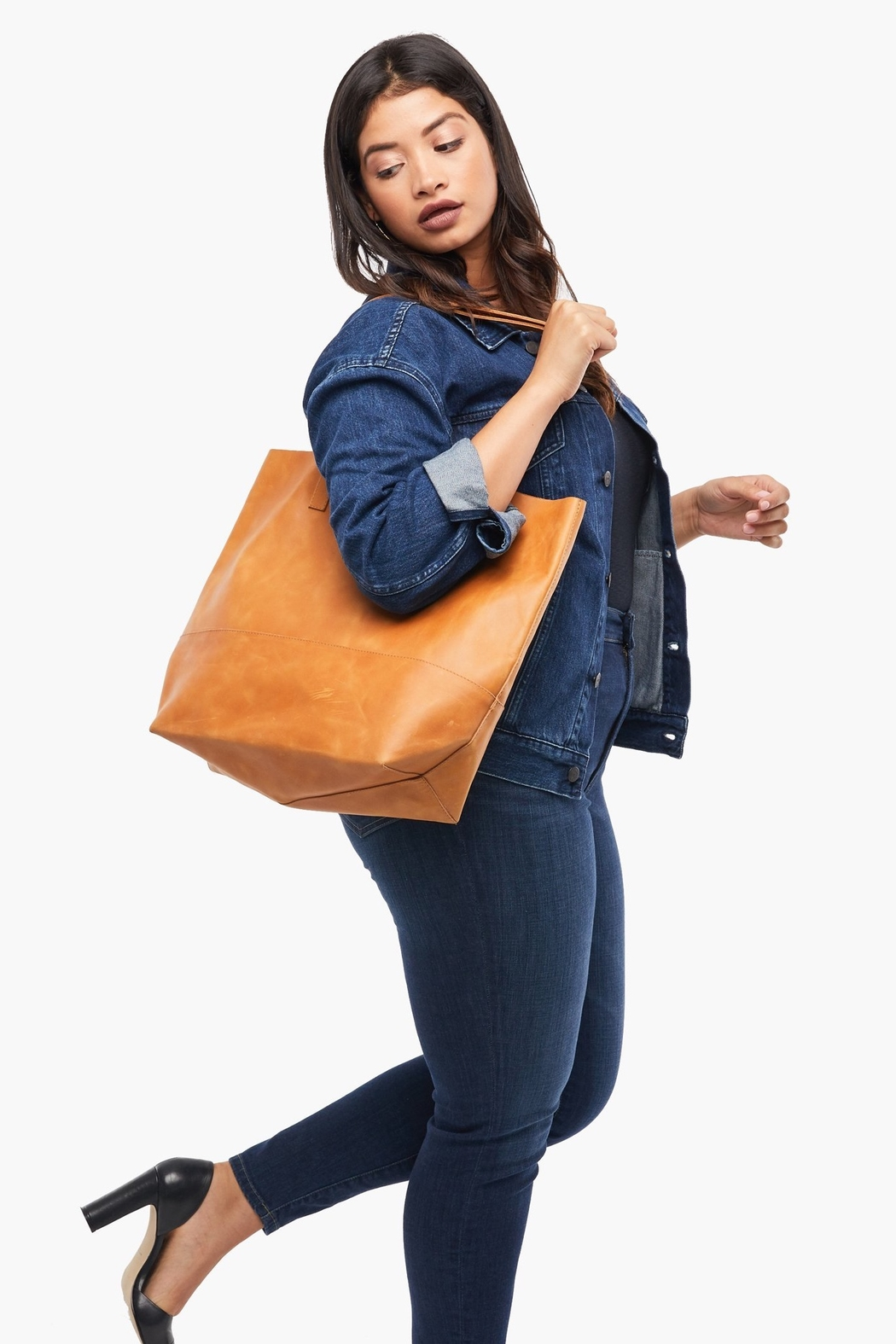 Able MAMUYE CLASSIC TOTE LEATHER - Front Full Image