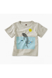 Tea Collection Manatee Baby Graphic Tee - Front cropped