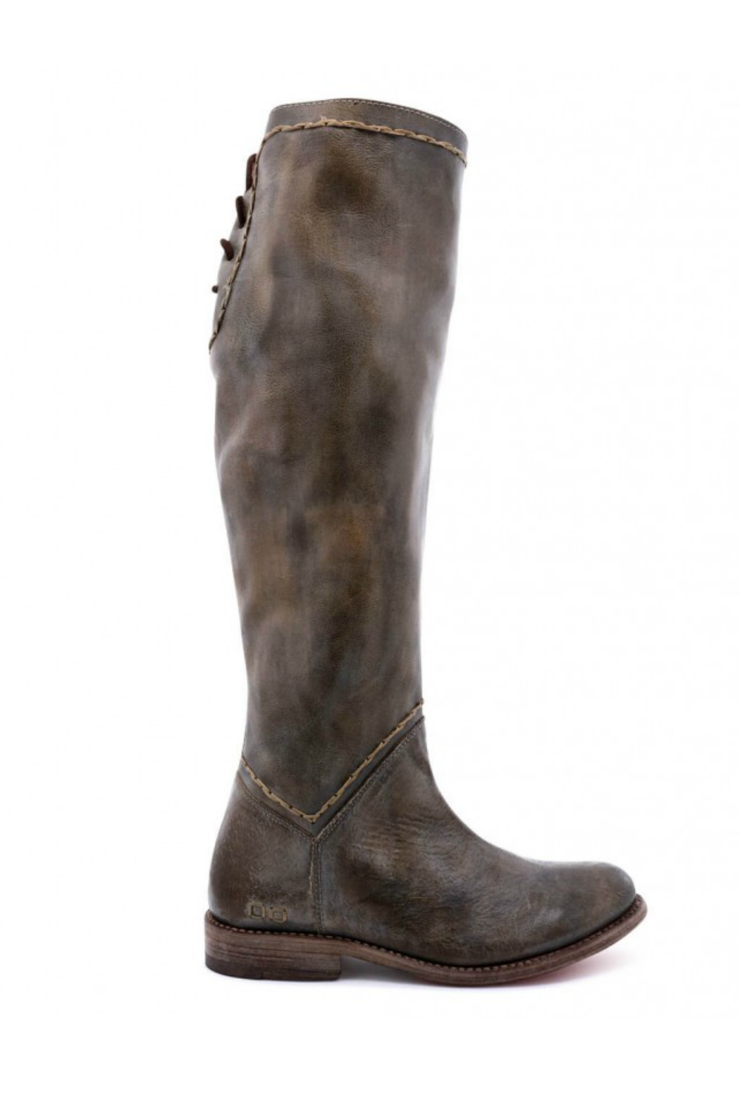 BED STU Manchester Back Lace Tall Boot - Front Cropped Image