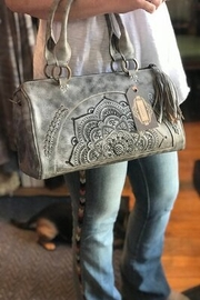 Leaders in Leather Mandala Bag with Crossbody Strap - Product Mini Image