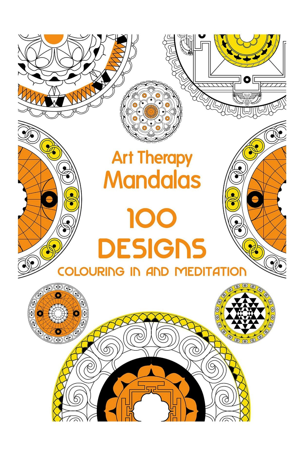 Hachette Book Group Mandalas Arttherapy Coloringbook - Main Image