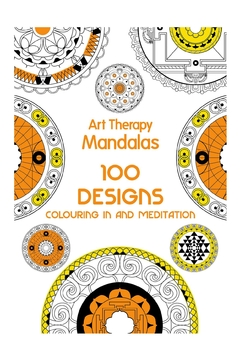 Hachette Book Group Mandalas Arttherapy Coloringbook - Alternate List Image