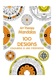 Hachette Book Group Mandalas Arttherapy Coloringbook - Front cropped