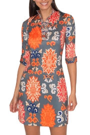 Gretchen Scott Mandarin Neck Shirtdress - Product Mini Image
