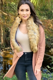 Buddy Love Mandy Fur Trim Cardi - Product Mini Image
