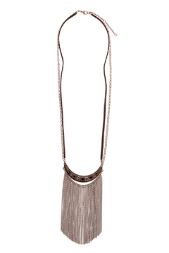 Mandyz Brown And Gold Necklace - Product List Image