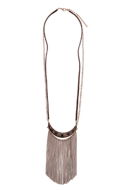 Mandyz Brown And Gold Necklace - Product Mini Image