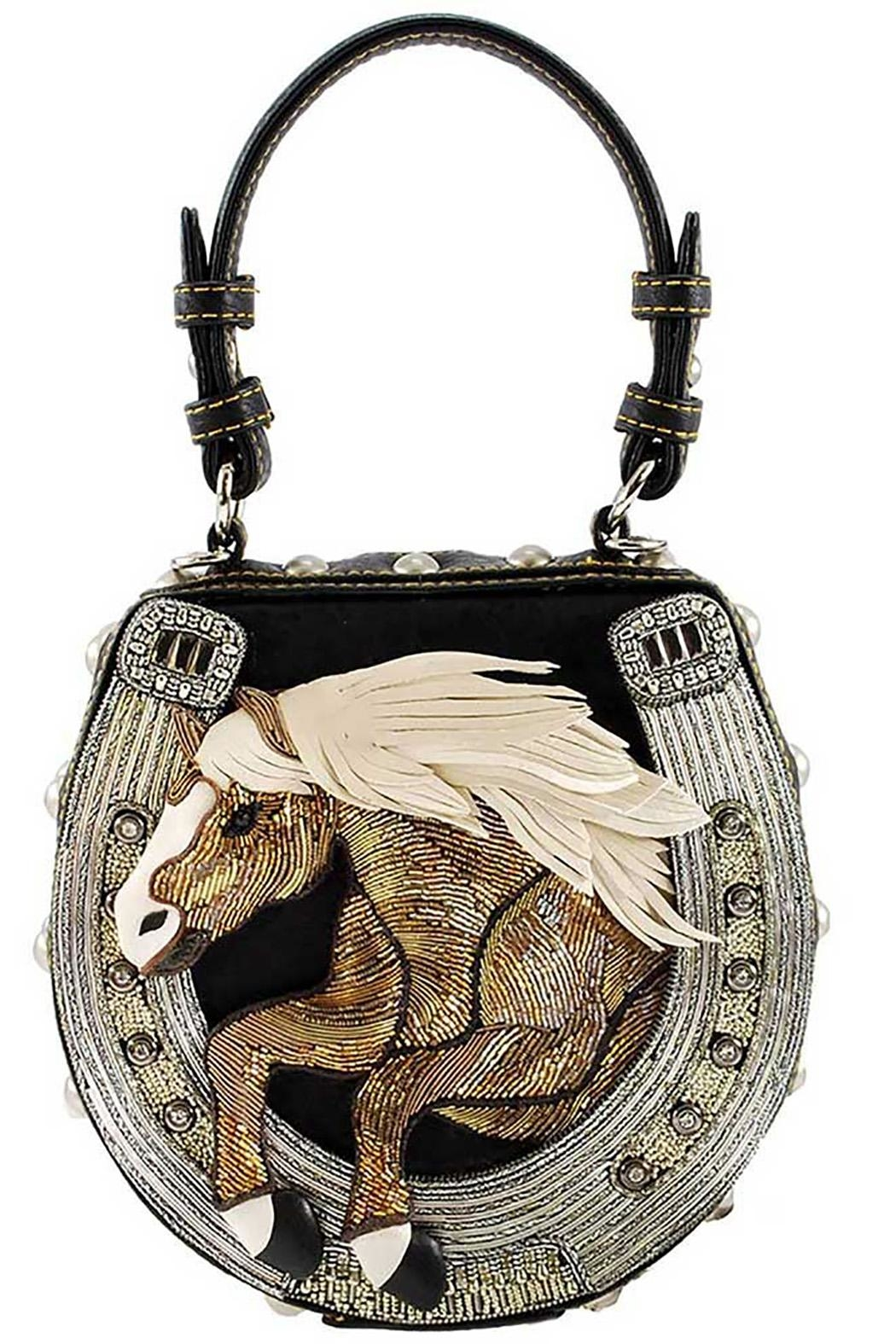 4c44069199 Mary Frances Mane-Stay Horse Handbag from Dallas by Hip Chic ...