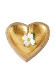 The Birds Nest MANGO WOOD HEART TRAY - Product Mini Image