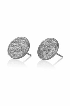 Shoptiques Product: Coin Stud Earrings