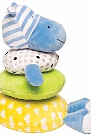 Manhattan Toy Company Soft Stacker Hippo - Side cropped