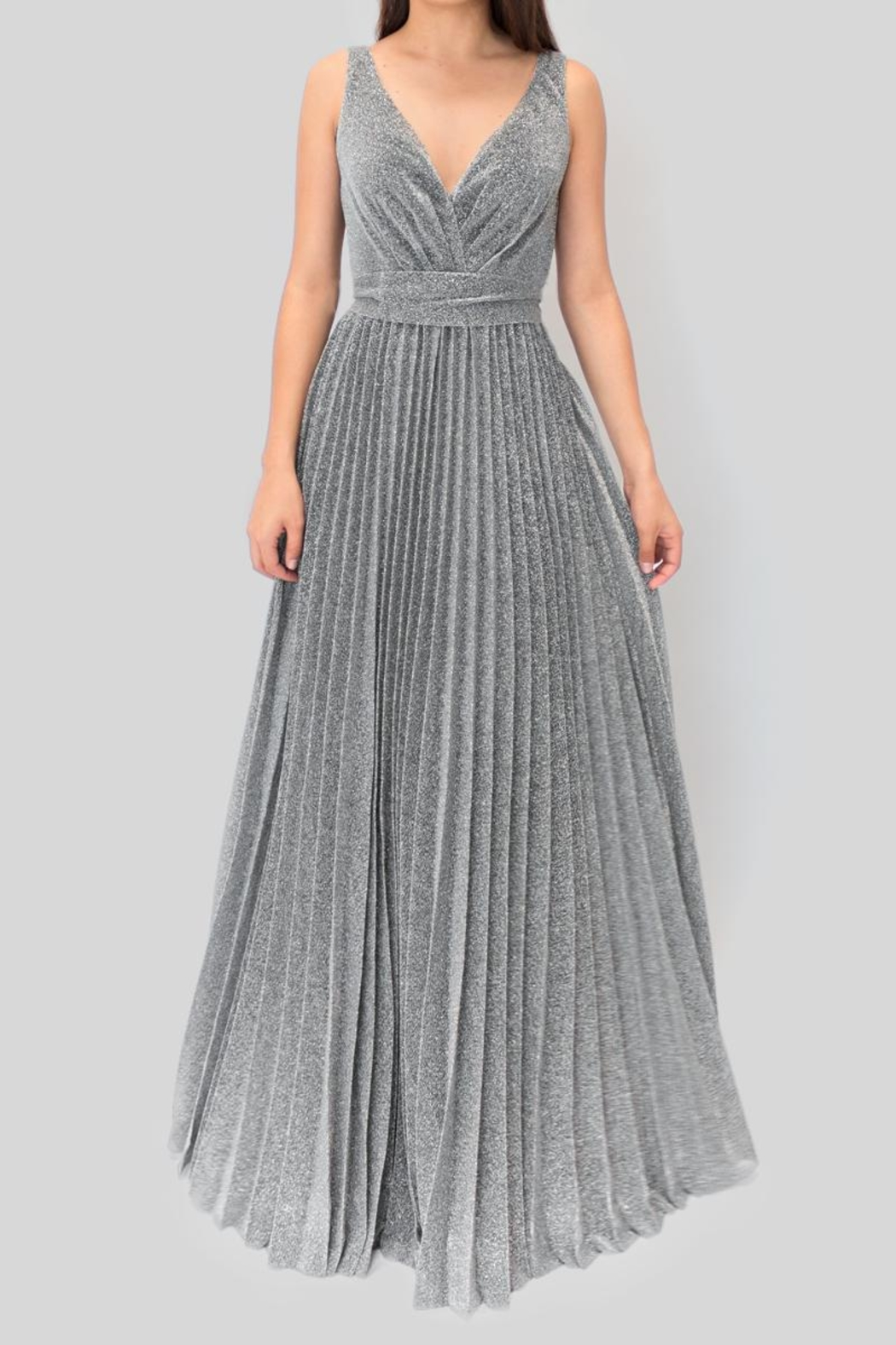 maniju Plated Silver Dress - Main Image