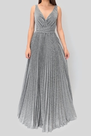 maniju Plated Silver Dress - Product Mini Image