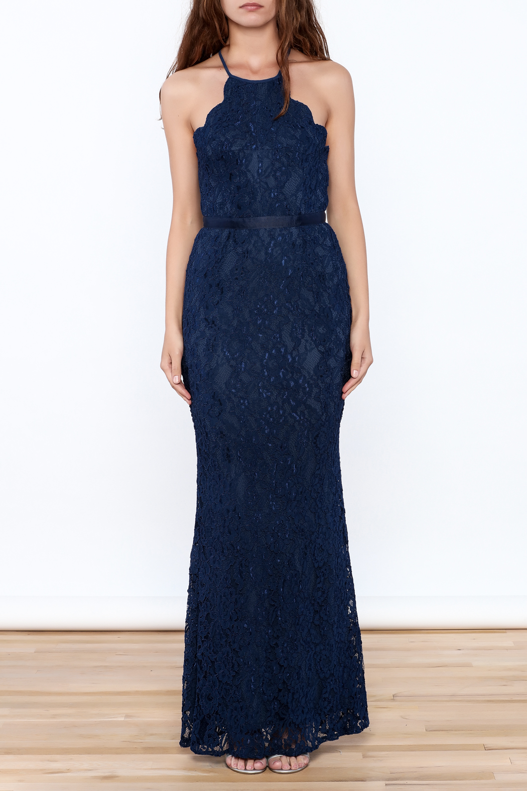 maniju Scalloped Lace Gown from New Hampshire by Pretty Little ...