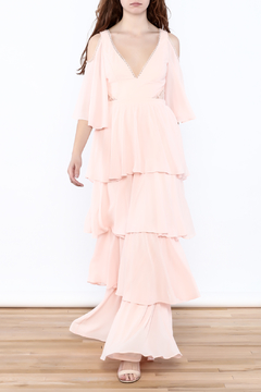 Shoptiques Product: Tired Ruffle Dress