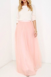 maniju Tulle Maxi Skirt - Front cropped