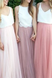 maniju Tulle Maxi Skirt - Side cropped