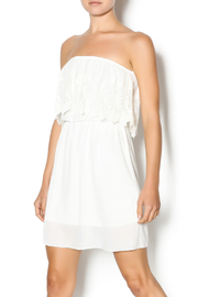 Manito Ivory Lace Strapless Dress - Product Mini Image