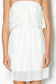 Manito Ivory Lace Strapless Dress - Other