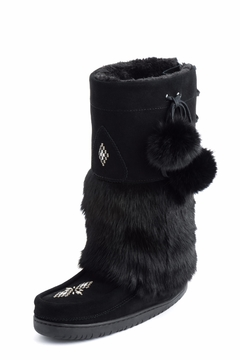 Shoptiques Product: Adjustable Snowy Owl Boots