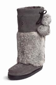 Manitobah Mukluks Snowy Owl Suede - Product Mini Image