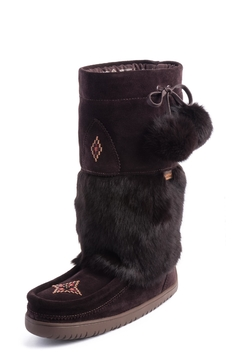 Shoptiques Product: Waterproof Snowy Owl Boots