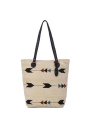 Manos Zapotecas Obsidian Arrow Tote - Product Mini Image