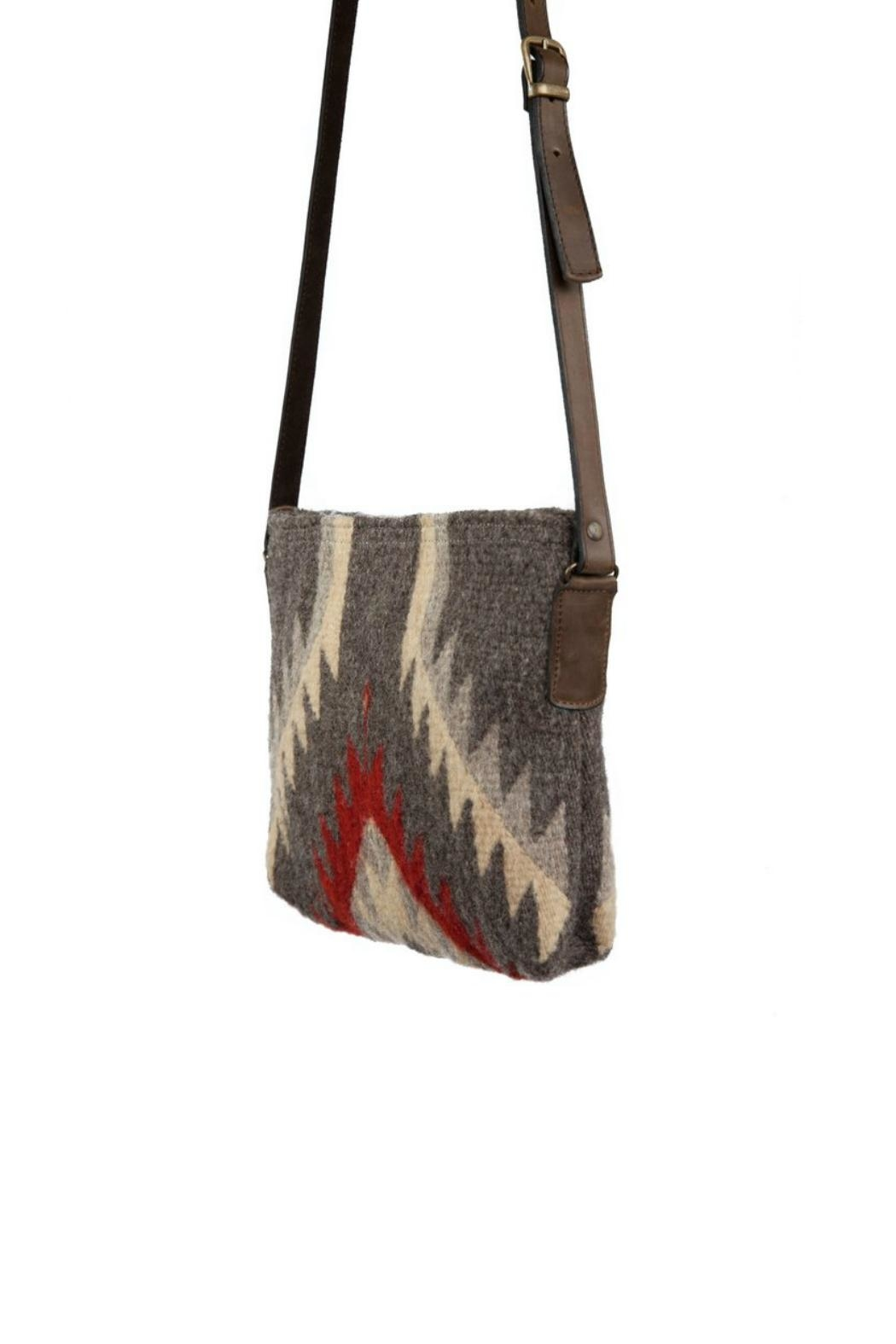 Manos Zapotecas Stormy Skies Crossbody - Front Full Image