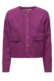 Sport Max Mantide Suede Jacket - Product Mini Image