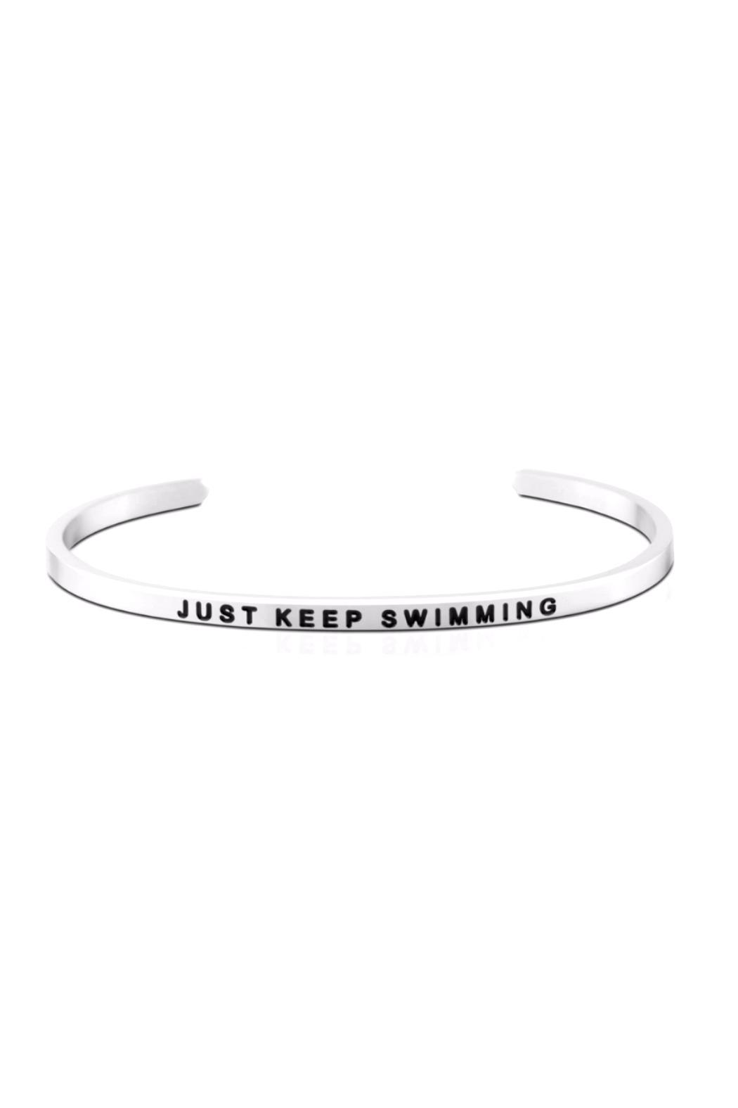 Mantraband Inspirational Cuff Bracelet - Front Cropped Image