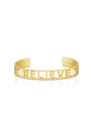 Mantraband Believe  Cuff - Front cropped