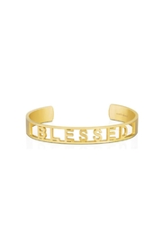 Mantraband Blessed  Cuff - Front cropped