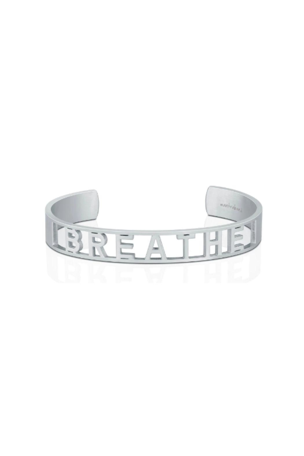 Mantraband Breathe  Cuff - Front Cropped Image