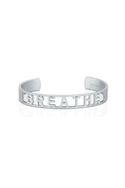 Mantraband Breathe  Cuff - Front cropped