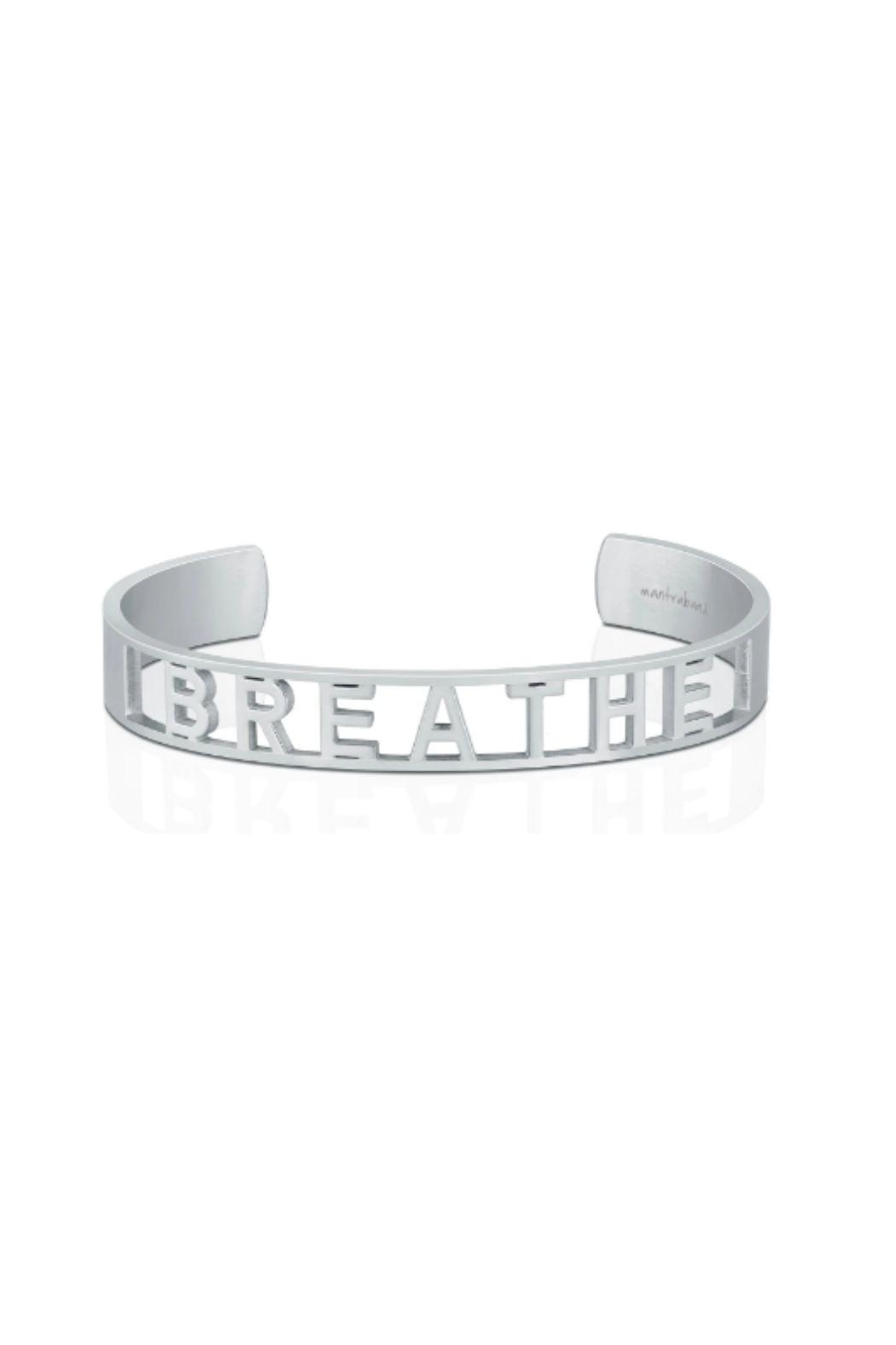Mantraband Breathe  Cuff - Main Image