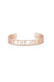 Mantraband Enjoy The Journey  Cuff - Front cropped