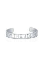 Mantraband Enjoy The Journey  Cuff Silver - Product Mini Image